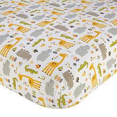 NoJo® Zoobilee Fitted Crib Sheet