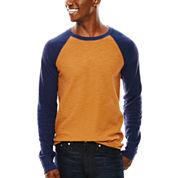 Arizona Raglan-Sleeve Thermal Pullover