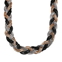Mixit™ Tri-Tone Braided Necklace