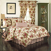 Waverly® Norfolk Reversible Quilt Set & Accessories