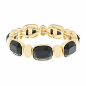Monet Jewelry Black Stretch Bracelet