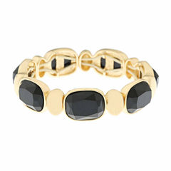 Monet Jewelry Black Stretch Bracelet