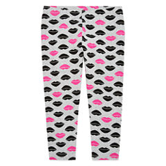 Total Girl Star Capri Jersey Leggings - Big Kid