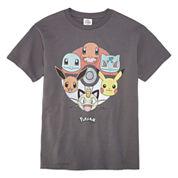 Pokemon Short Sleeve Pokemon T-Shirt-Big Kid Boys