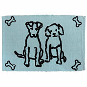 P. B. Paws by Park B. Smith® Dog Friends Cotton Pet Mat