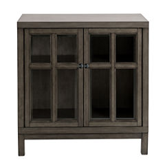Madison Park Signature Helena Two Glass Door Credenza