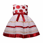 Bonnie Jean Sleeveless Empire Waist Dress - Baby