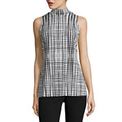 Worthington® Sleeveless Mockneck Top