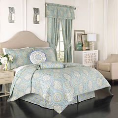 Waverly® Moonlight Medallion 4-pc. Reversible Quilt Set