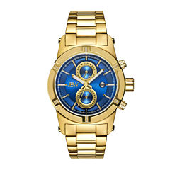 JBW Strider Mens Diamond-Accent Gold-Tone Stainless Steel Watch J6263H