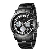 men s watches for jewelry watches jcpenney jbw delano mens 1 5 ct t w diamond black stainless steel watch jb
