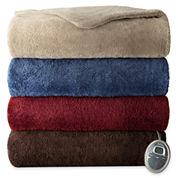 •Sunbeam® SlumberRest LoftTec™ Heated Blanket