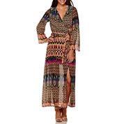 Weslee Rose Bell-Sleeve Maxi Dress