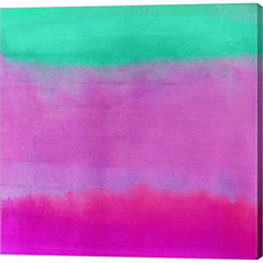 Gradients IV Gallery Wrapped Canvas Wall Art On Deep Stretch Bars