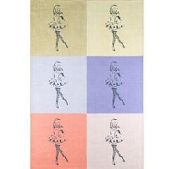 Novogratz By Momeni Dancing Girls Multi Rectangular Rugs