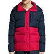 U.S. Polo Assn.® Colorblock Short Bubble Jacket