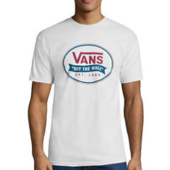 Vans® Short-Sleeve Cloval Cotton Tee