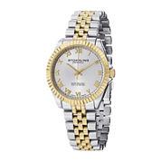 Stührling® Original Mens Two-Tone Stainless Steel Bracelet Watch
