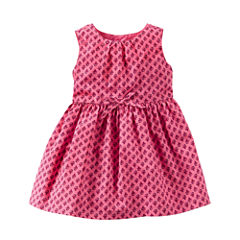Carter's Short Sleeve Dress Set - Baby Girls