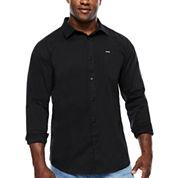 Zoo York® Roads End Long-Sleeve Stretch Woven Shirt - Big & Tall