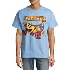 Short Sleeve Pacman Graphic T-Shirt