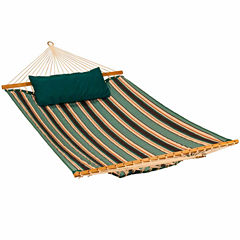 13-Foot Sunbrella Quilted With Pillow 2-Pc. Set Hammock