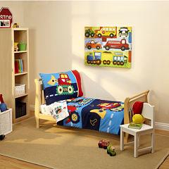 NoJo® Everything Kids 4-pc. Toddler Bedding Set