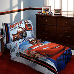Disney Cars 4-pc. Toddler Bedding Set