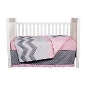 Trend Lab® 3-pc. Cotton Candy Crib Bedding Set