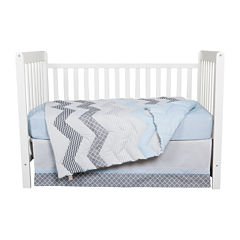 Trend Lab® 3-pc. Blue Taffy Crib Bedding Set