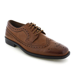 Deer Stags® Cade Mens Wingtip Leather Oxfords