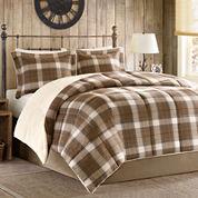 Woolrich Lumberjack Plaid Softspun Down-Alternative Comforter Set
