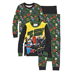 4-pc. DC Comics Super Heroes Pajama Set- Boys 4-10