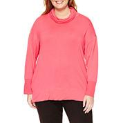 Liz Claiborne® Long-Sleeve Tunic Top - Plus