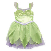Disney Tinker Bell Dress Up Costume-Big Kid Girls