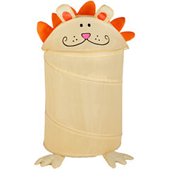 Honey-Can-Do® Lion Medium Pop-Up Hamper
