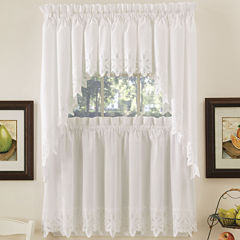 Gray kitchen curtains for window jcpenney - Jcpenney bathroom window curtains ...