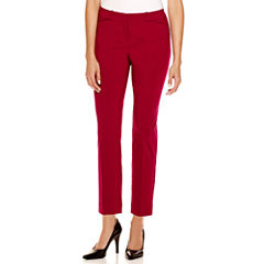Worthington® Slim Fit Ankle Pants