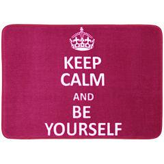 Mohawk Home® Keep Calm and Be Yourself Bath Rug