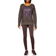 Xersion™ High-Low Sweatshirt or Fitted Leggings