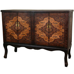 Oriental Furniture Olde-Worlde Vintage Double Accent Chest