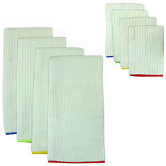 Primary Trim 8-pc. Dish Towel and Dishcloth Set