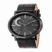Armitron® Mens Two-Tone Bracelet Watch