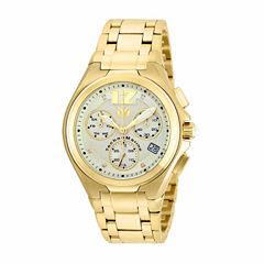 Techno Marine Mens Gold Tone Bracelet Watch-Tm-215015