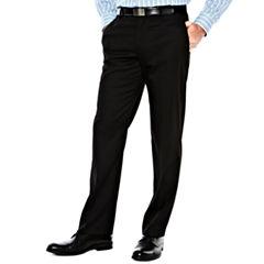Men's Van Heusen® Flat-Front Straight-Leg Slim Fit Studio Pants