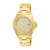 Invicta Womens Gold Tone Bracelet Watch-22707