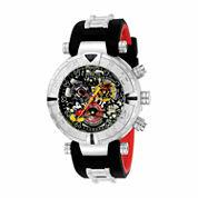 Invicta Unisex Black Strap Watch-22733