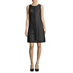 Tiana B. Sleeveless Lace A-Line Dress - Tall
