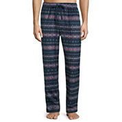 Stafford® Microfleece Pajama Pants - Big & Tall