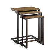 Carolina Chair & Table Cora 3-pc. Nesting Tables